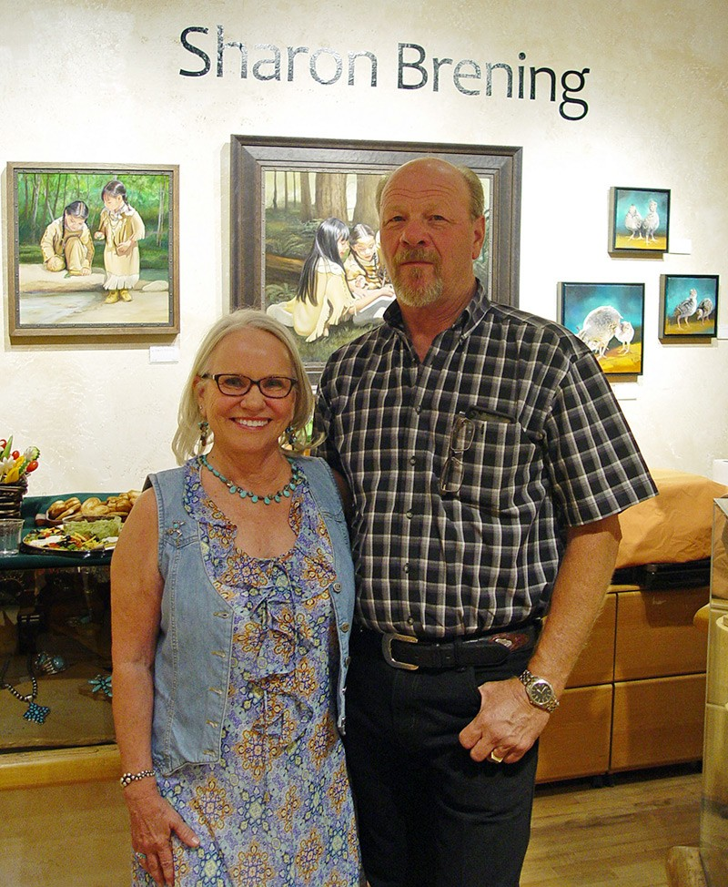 sharon brening art show